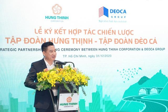 Tập đoàn Hưng Thịnh hợp tác chiến lược cùng Tập đoàn Đèo Cả - Ảnh 2.