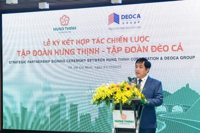 Tập đoàn Hưng Thịnh hợp tác chiến lược cùng Tập đoàn Đèo Cả - Ảnh 3.