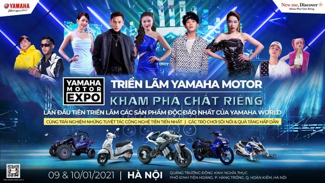 Triển lãm Yamaha Motor - Sự kiện sẽ khuynh đảo Phố đi bộ Hồ Gươm cuối tuần này - Ảnh 1.