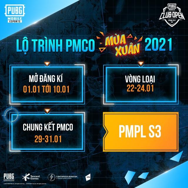PMCO mùa Xuân 2021 chính thức khởi tranh tìm ra những nhân tố mới tranh tài tại PMPL VN S3 - Ảnh 1.