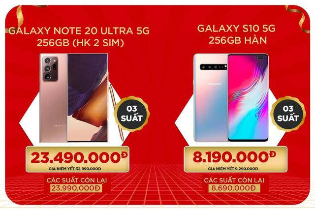 iPhone Xs và Galaxy Note 20 Ultra 5G giảm đến 9,5 triệu dịp khai trương tại XTmobile - Ảnh 3.