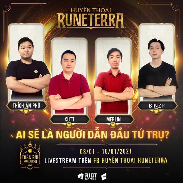 Đại Cao Thủ Việt Nam nào sẽ lên ngôi vương trong giải đấu Thần Bài Runeterra mùa đầu tiên? - Ảnh 2.