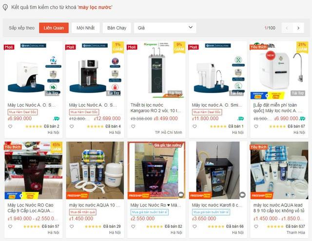 Thị trường máy lọc nước cao cấp sôi động dịp mua sắm cuối năm - Ảnh 2.