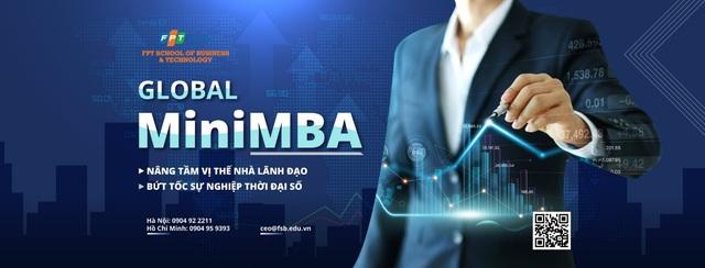 Học Global MiniMBA trên nền tảng số để bứt tốc phát triển sự nghiệp - Ảnh 1.