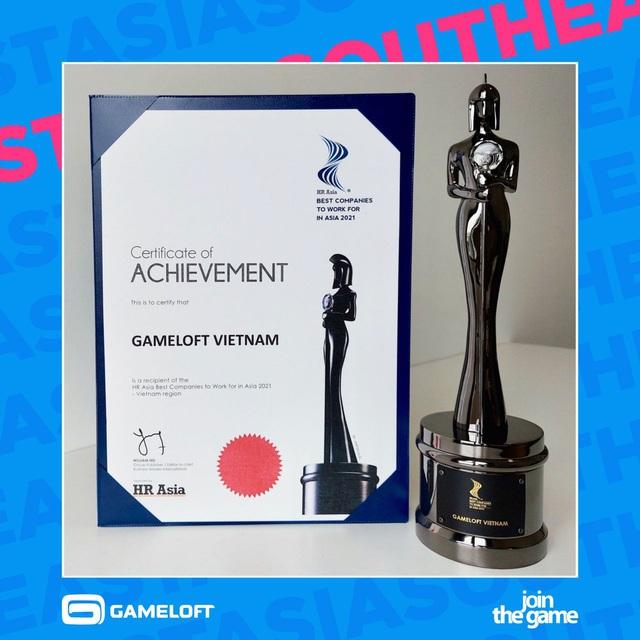 Gameloft được vinh danh trong top Nơi làm việc tốt nhất Châu Á 2021 Photo-1-1633946978346850691215
