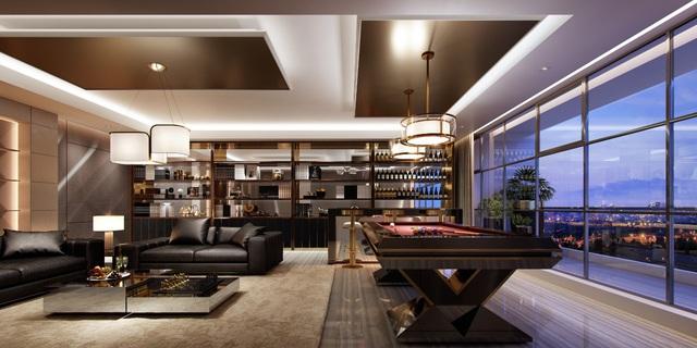 Đỉnh cao penthouse giữa lòng Sài Gòn: Chuẩn Resort, chất thượng lưu - Ảnh 1.