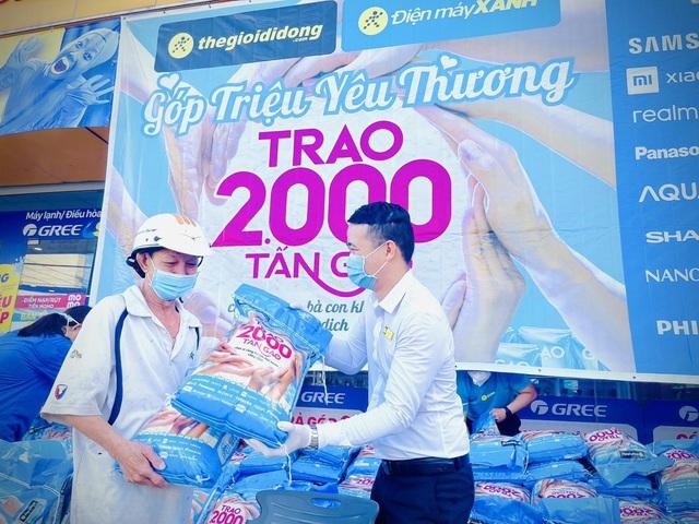 """2.000 tấn gạo miễn phí và sự chung tay của các """"sếp lớn"""" Sunhouse, Sharp, Philips, Xiaomi, Panasonic - Ảnh 3."""