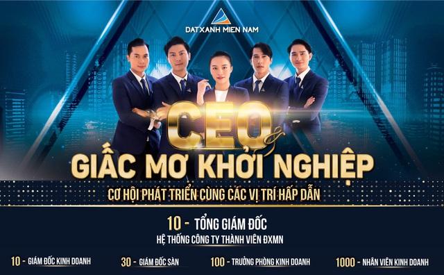CEO và giấc mơ khởi nghiệp - Dấu ấn của Đất Xanh Miền Nam - Ảnh 2.