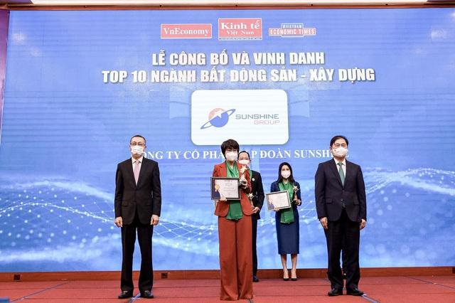 Sunshine Group được vinh danh trong TOP 10 Thương hiệu Mạnh Việt Nam ngành Bất động sản - Xây dựng - Ảnh 1.