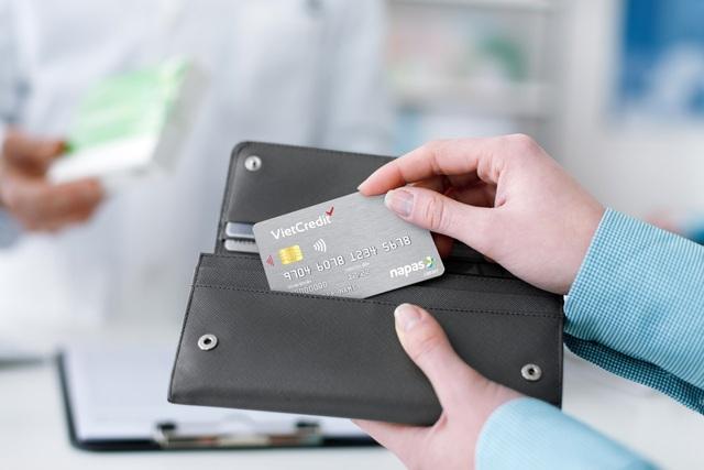 Thẻ tín dụng nội địa VietCredit có thêm tính năng thanh toán qua POS/MPOS - Ảnh 1.