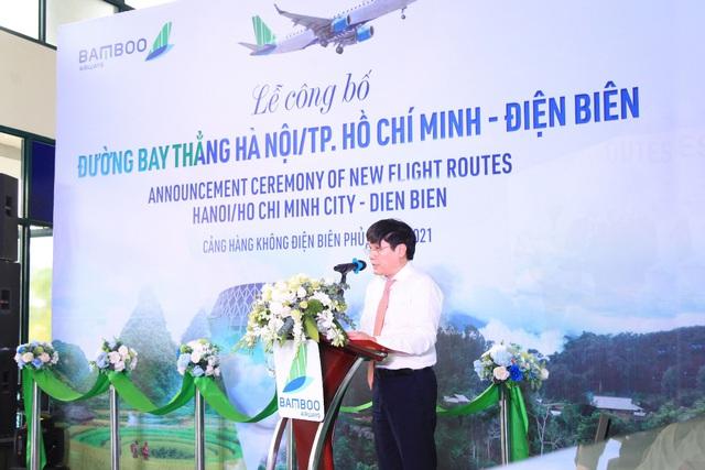 Bamboo Airways khai trương đường bay thẳng Hà Nội/TP Hồ Chí Minh - Điện Biên - Ảnh 1.
