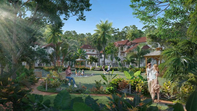 Sun Tropical Village: Giải mã sức hấp dẫn của phân khu Tropical Park - Ảnh 2.