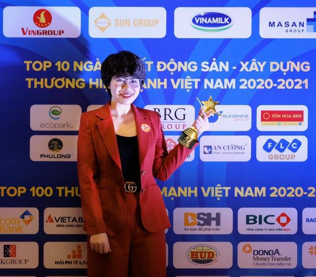 Sunshine Group được vinh danh trong TOP 10 Thương hiệu Mạnh Việt Nam ngành Bất động sản - Xây dựng - Ảnh 3.