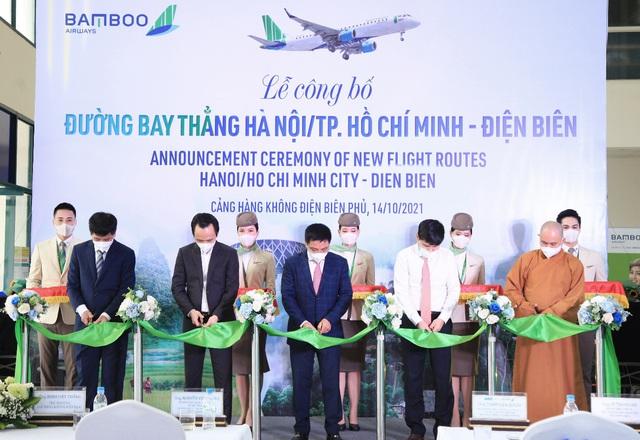 Bamboo Airways khai trương đường bay thẳng Hà Nội/TP Hồ Chí Minh - Điện Biên - Ảnh 4.