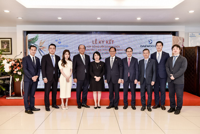 """Tập đoàn Tân Á Đại Thành hợp tác cùng Daewoo E&C xây dựng """"phố Hàn Quốc"""" tại Meyhomes Capital Phú Quốc - Ảnh 2."""