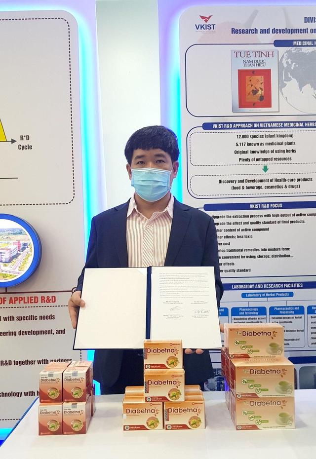 Hợp tác quốc tế nâng cao chất lượng sản phẩm Diabetna cho người tiểu đường - Ảnh 2.