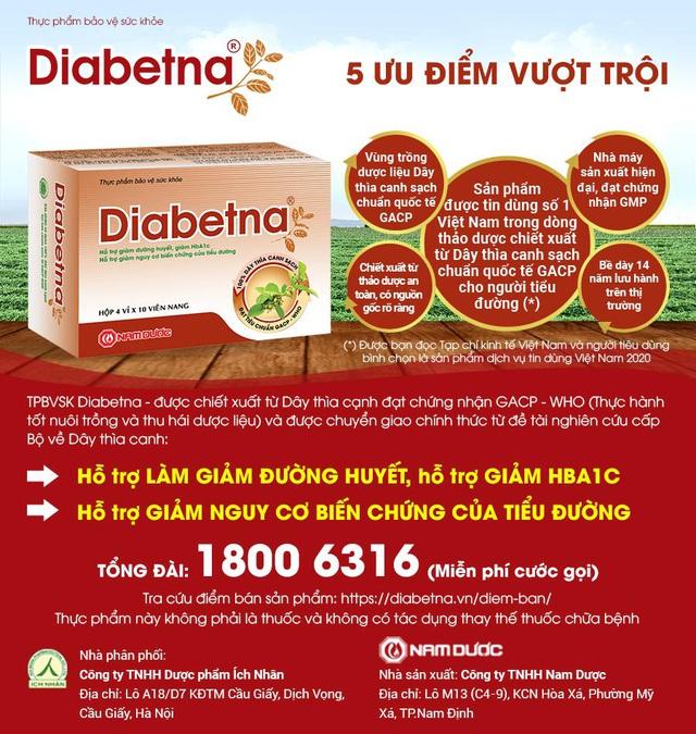 Hợp tác Quốc tế nâng cao chất lượng sản phẩm Diabetna cho người tiểu đường - Ảnh 3.