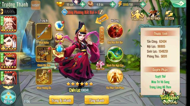 Tiếu Ngạo Độc Tôn VGP – Game Chiến Thuật độc đáo đúc kết tinh túy 60 năm võ học Kim Dung - Ảnh 4.