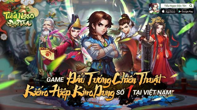 Tiếu Ngạo Độc Tôn VGP – Game Chiến Thuật độc đáo đúc kết tinh túy 60 năm võ học Kim Dung - Ảnh 1.