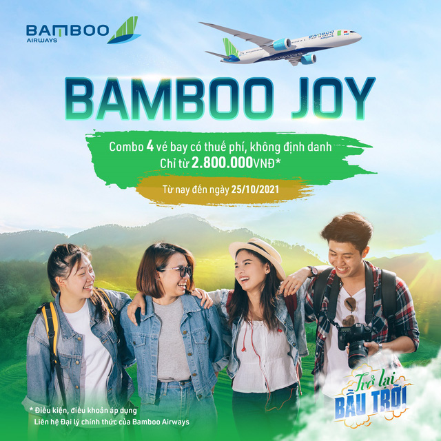 Thoả sức trải nghiệm bay đẳng cấp với ưu đãi đồng giá GV4 của Bamboo Airways - Ảnh 1.