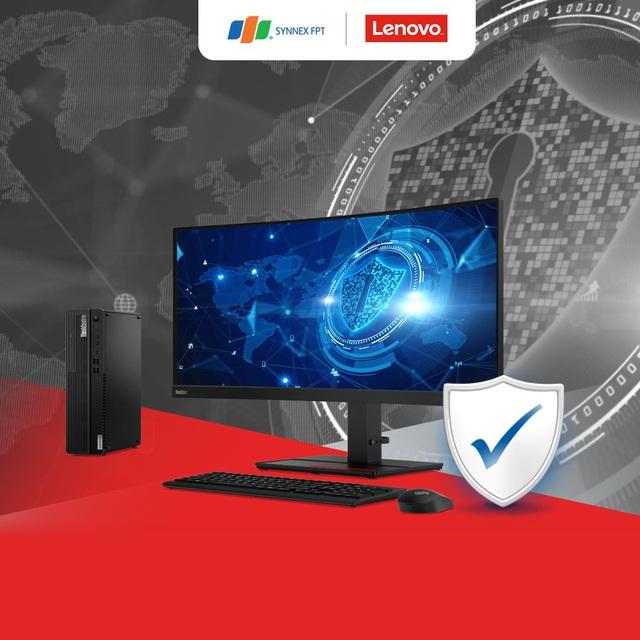 Máy tính đồng bộ Lenovo ThinkCentre M70t và M70s: Hiệu năng mạnh mẽ, bảo mật tối đa - Ảnh 3.