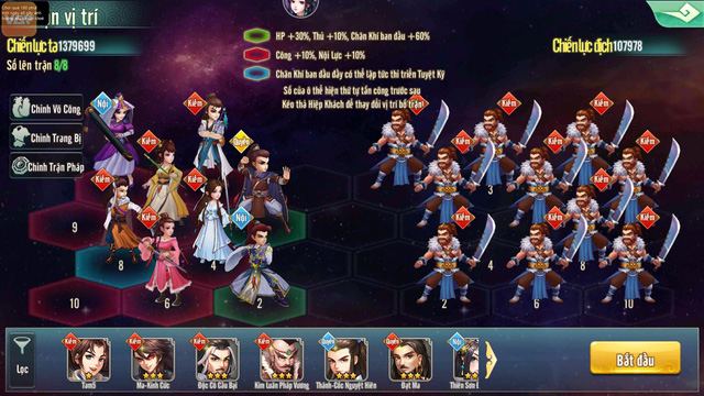 Tiếu Ngạo Độc Tôn VGP – Game Chiến Thuật độc đáo đúc kết tinh túy 60 năm võ học Kim Dung - Ảnh 7.