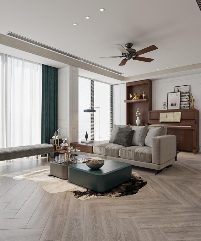Ứng dụng phong thủy trong thiết kế căn hộ tại Harmony Square, Thanh Xuân - Ảnh 2.
