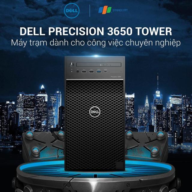 Cỗ máy kiếm tiền Dell Precision 3650 Tower dân thiết kế không thể bỏ lỡ - Ảnh 1.