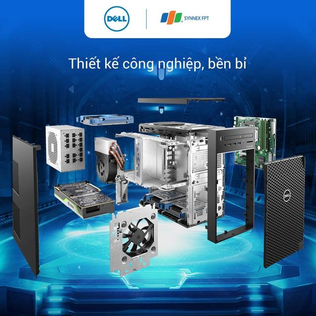 Cỗ máy kiếm tiền Dell Precision 3650 Tower dân thiết kế không thể bỏ lỡ - Ảnh 2.