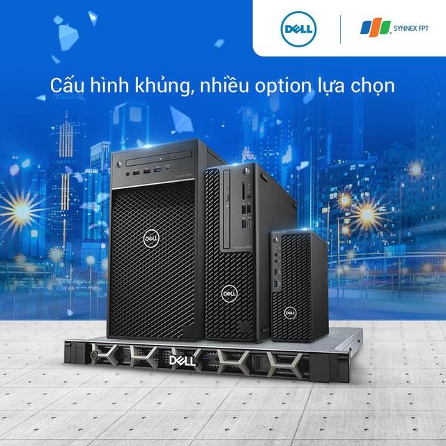 Cỗ máy kiếm tiền Dell Precision 3650 Tower dân thiết kế không thể bỏ lỡ - Ảnh 3.