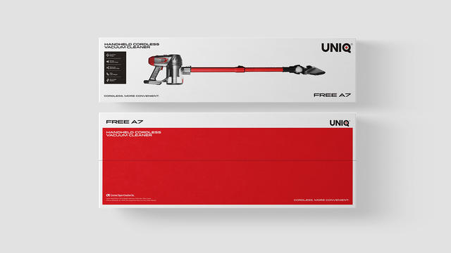 UNIQ FREE A7: Máy hút bụi cầm tay không dây thương hiệu Nhật Bản nhỏ gọn, đa dụng, giá rẻ - Ảnh 1.