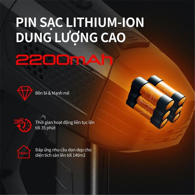 UNIQ FREE A7: Máy hút bụi cầm tay không dây thương hiệu Nhật Bản nhỏ gọn, đa dụng, giá rẻ - Ảnh 5.