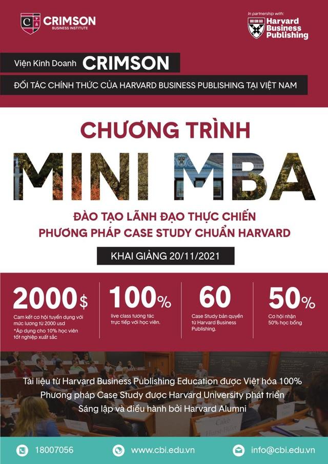 Minh Beta:  Tôi muốn mang tinh hoa quản trị từ Harvard tới Việt Nam - Ảnh 4.