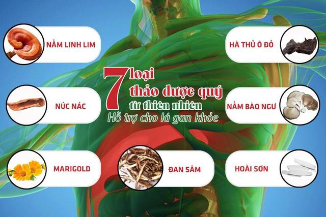 26 năm nghiên cứu công thức bảo vệ toàn diện lá gan của các nhà khoa học Việt - Ảnh 1.