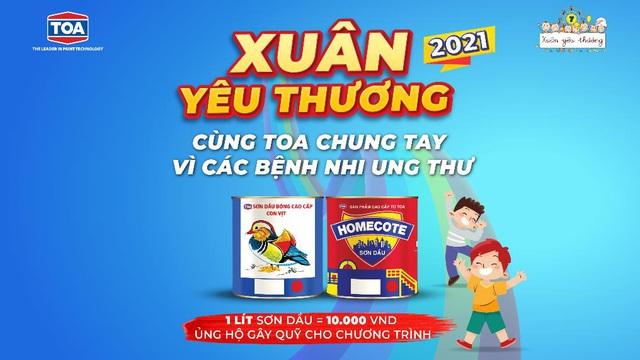 """Sơn TOA Việt Nam và """"sứ mệnh"""" mang mùa xuân yêu thương cho các em nhỏ - Ảnh 2."""