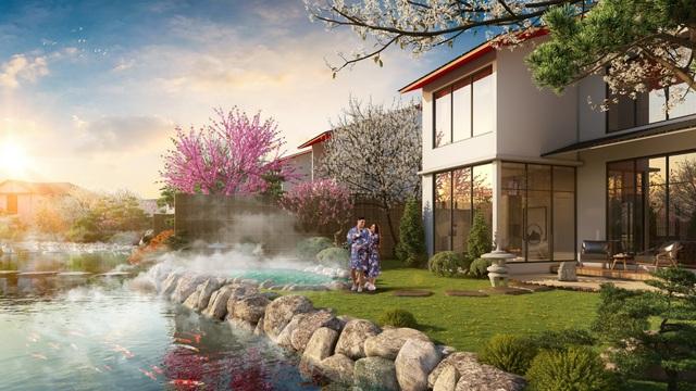 """Nguồn khoáng nóng của biệt thự """"triệu đô"""" Sun Onsen Village  - Limited Edition có gì đặc biệt? - Ảnh 1."""