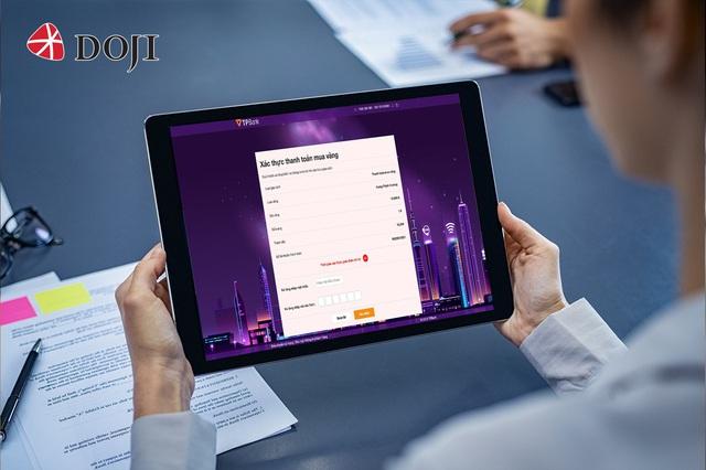 Mua vàng Thần tài trực tuyến siêu tốc qua ứng dụng eGold của DOJI - Ảnh 4.