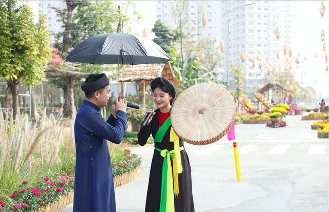 Đường hoa Home Hanoi Xuân: Điểm đến an toàn Tết Tân Sửu - Ảnh 2.