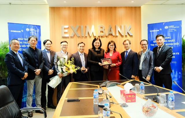 Eximbank nhận giải thưởng xuất sắc mảng ngoại hối từ London Stock Exchange Group - Ảnh 1.