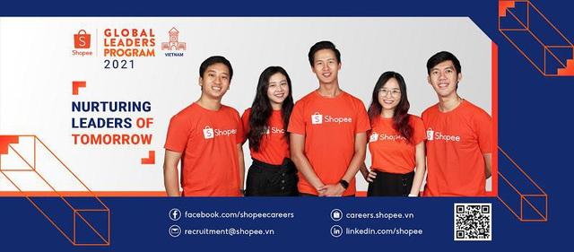 """Đường đua """"Global Leaders Program - Nhà lãnh đạo toàn cầu"""" từ Shopee đã chính thức trở lại, chào đón các tài năng GenZ! - Ảnh 1."""