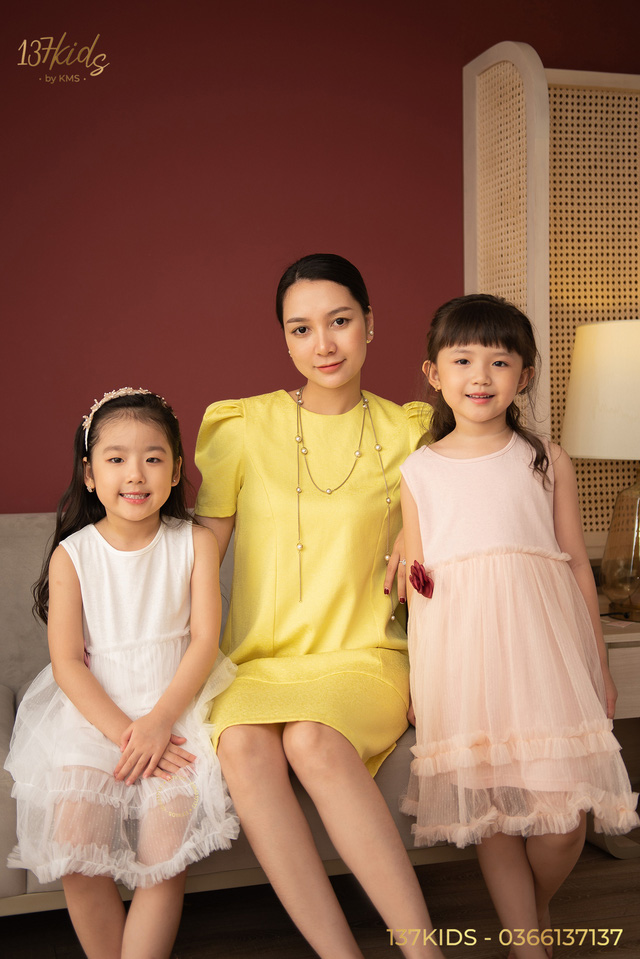 Sang trọng - sành điệu cùng bộ sưu tập váy hè mẹ và bé của tiệm váy 137 KIDS - Ảnh 3.