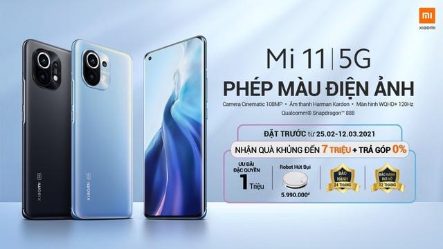 Siêu flagship Mi 11 | 5G tại Việt Nam sẽ có kèm củ sạc nhanh 55W và chương trình pre-order hấp dẫn - ảnh 3