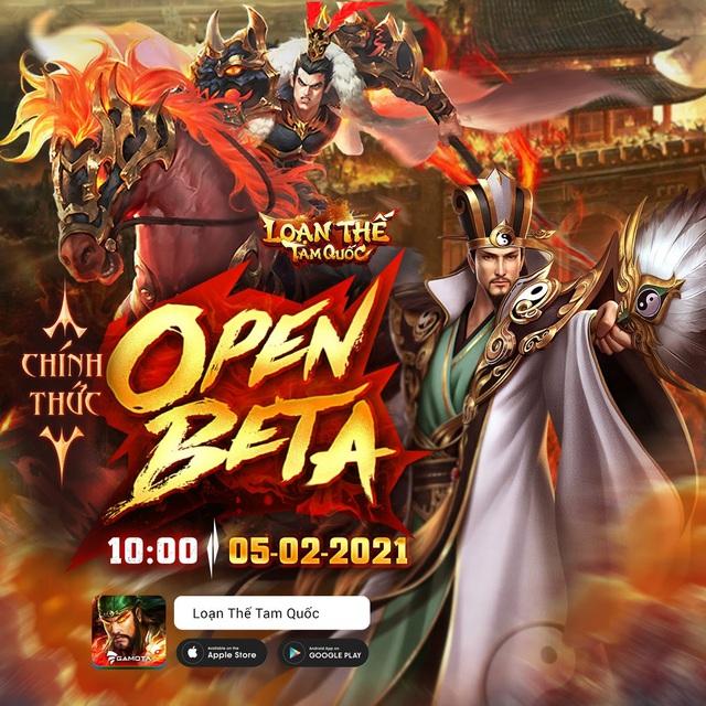 """Nhận mưa lời khen, Loạn Thế Tam Quốc """"chốt"""" Open Beta 5/2: Game hay chơi Tết chính là đây! - Ảnh 1."""