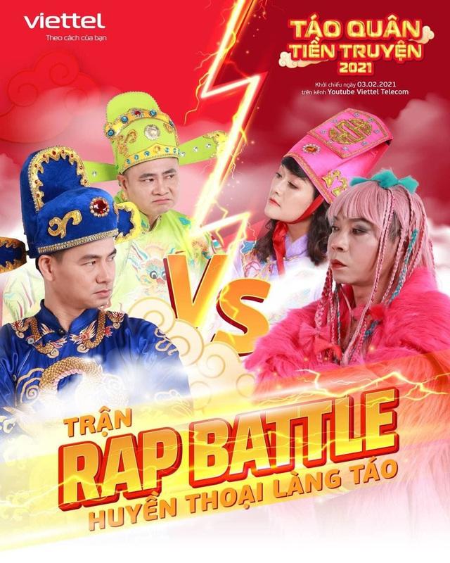 Bá quan văn võ Thiên Đình chia team rap battle: Bắc Đẩu lấy rap name BD, Nam Tào ứng khẩu bằng ca dao tục ngữ - Ảnh 2.