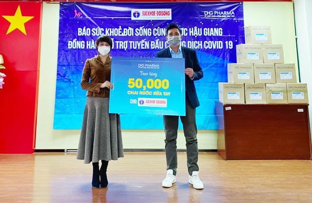 50.000 chai gel rửa tay kháng khuẩn trợ lực 3 tỉnh chống dịch ngày sát Tết - Ảnh 1.