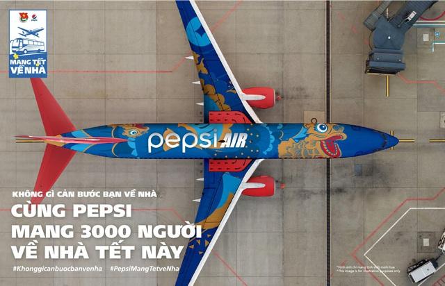 Tết này, nói là làm, Pepsi thực sự hành động mang tết về nhà! - Ảnh 1.