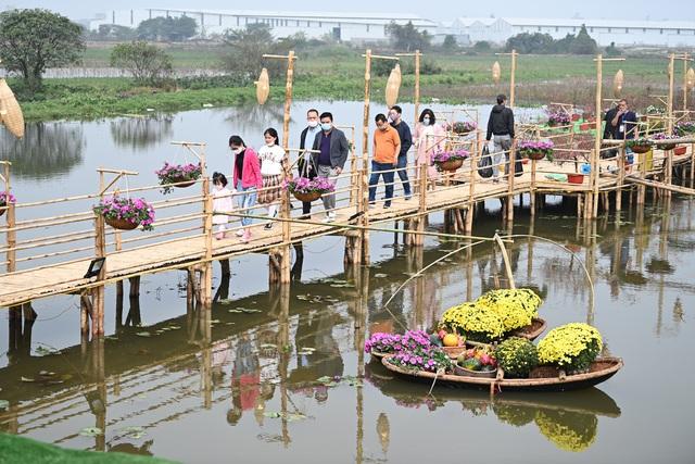 Mở cửa đường hoa Home Hanoi Xuan 2021 - Ảnh 2.