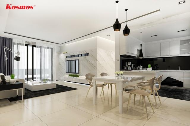 Thay đổi diện mạo mới cho ngôi nhà của bạn với Kosmos - Ảnh 2.