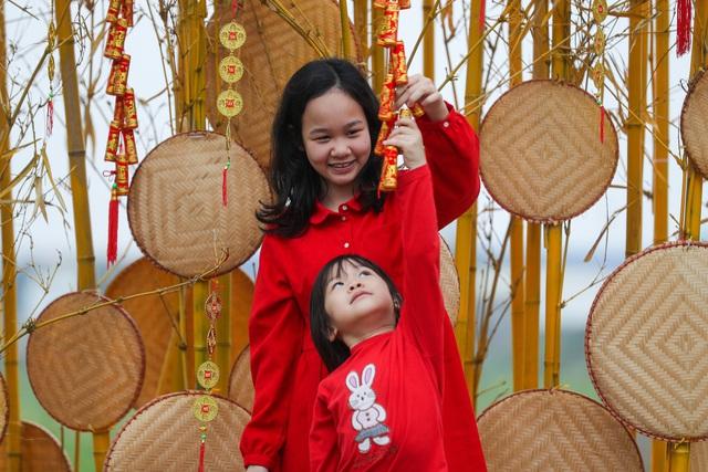 Mở cửa đường hoa Home Hanoi Xuan 2021 - Ảnh 4.