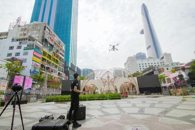 AGS Technology và dự án Số hóa Đường hoa Nguyễn Huệ Tết Tân Sửu 2021 - Ảnh 1.